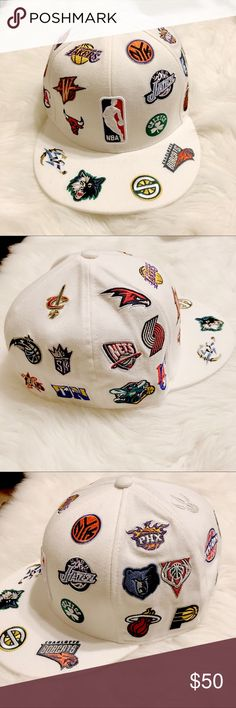 abb2a9a3be6c8 ✨NBA RARE vintage fitted hat✨ Like new adidas Accessories Hats