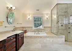 Small Master Bathroom Remodel Ideas by no means go out of styles. Small Master Bathroom Remodel Ideas can be furnished in a n Master Bathroom Layout, Modern Master Bathroom, Small Bathroom, Bathroom Ideas, Master Bathrooms, Bathroom Designs, Shower Designs, Luxury Bathrooms, Bath