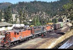RailPictures.Net Photo: WP 2001 Western Pacific EMD GP20 at Keddie, California by Leo J. Munson