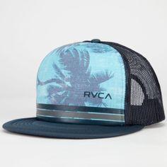 RVCA Barlow Printed Mens Trucker Hat 235155255 | Truckers | Tillys.com
