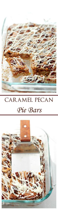 ... Yummy - Desserts on Pinterest   Sugar cookie icing, Bar and Pecans