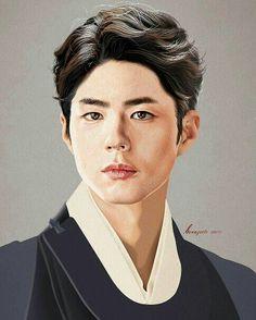 Park Bo Gum Cantabile Tomorrow, Hallyu Star, Bo Gum, Korean Actors, Korean Drama, Kdrama, Chibi, Fan Art, Moonlight