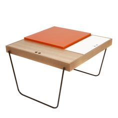 cage table is a storage unit and a table suitable as side table rh pinterest com