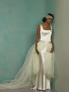 Gown by Maria Luisa Rabell