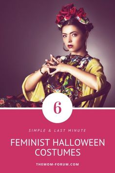 Easy and simple Halloween costume ideas for women that want to dress up as feminist like Rosie the Riveter, Frida Khalo, Beyonce, Serena Williams, Ruth Bader Ginsburg and Princess Leia. These can be put together last minute. Whether you are in to celebrities, cosplay, starwars, or pop culture there is a costume for you. All are appropriate for work, school or trick or treating and can be done for any female…toddlers, girls, teenagers, plus size. Halloween | Costumes | Feminist Costumes Feminist Halloween Costumes, Halloween Costumes Pop Culture, Work Appropriate Halloween Costumes, Police Halloween Costumes, Halloween Kostüm, Ruth Bader Ginsburg, Serena Williams, Beyonce, Plus Size Halloween
