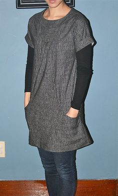 portfolio tunic from lisette patterns.