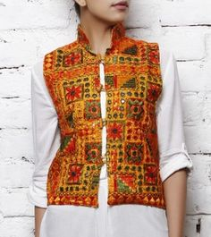 Kutchi Designer Embroidered Ladies Jackets... made by Indian artisans are one of the most respected and attractive outfit that any women can have
