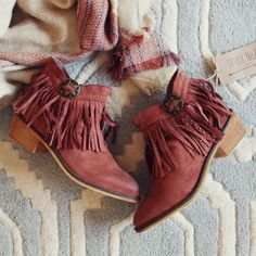 Lost Valley Fringe Boots... the perfect fall & winter boot. www.spool72.com