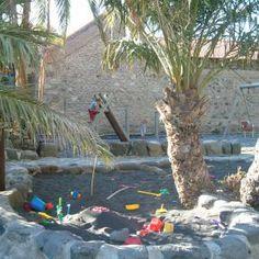 Kinder im Sandkasten, Urlaub mit Kindern bei ReNatour