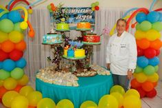 Looking for cake decorating project inspiration? Check out Movie RIO theme cake. by member Ileana Carmona.