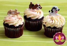 Puppy Dog Cupcake Picks