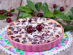 Вишнёвый пирог или «Вишневый клафути»