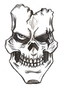 Assassin Skull Drawings - Bing images
