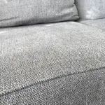 Broyhill Naples Living Room Sectional | Big Lots Grey Sectional Sofa, Living Room Sectional, Sofa Dimension, Chenille Fabric, Cushion Filling, Wood Dust, Foam Cushions, Naples, Accent Pillows