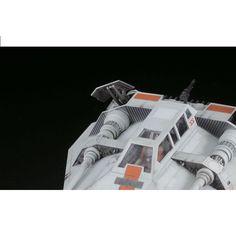 Star Wars Bandai Plastic Model : Snowspeeder 1/48 and 1/144 Set