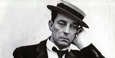 I have always found Buster Keaton incredibly handsome, even in those moments when he is feigning repose or sadness. Surely one of America's true geniuses.
