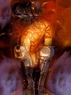 """Saatchi Art Artist Banu Haznedar; , """"Hymn to Pan 1"""" #art"""