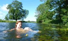 Wild swimming in the UK: 10 top spots – Be Fit Be Happy Wild swimming in the UK: 10 top spots River Waveney Bungay, Suffolk. This water is less than 30 miles from Keep Cottage Orford Suffolk Natural Swimming Pools, Open Water Swimming, Swimming Holes, Uk Beaches, Sandy Beaches, Wild Waters, Camping Uk, Lake District, Adventure Is Out There