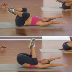 10 Moves for a Flat Stomach - Shape Magazine