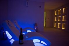 SPA equipment inspiration by ISO Benessere for a luxury area of relax. Like in Masseria Muzza in Puglia
