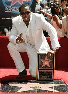 Sean Combs gets his star Sean Combs, Got Him, New York City, Stars, New York, Sterne, Nyc, Star