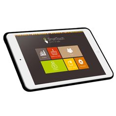 You Need Tablet Only to load software and use it in accounting & management
