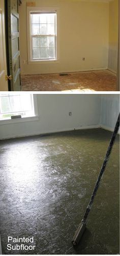 DIY - Plywood Floors - Installation