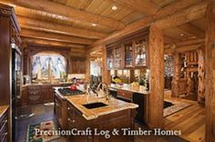 84 best log home ideas images in 2018 rustic kitchens country rh pinterest com