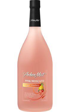 Arbor Mist Pineapple Strawberry Pink Moscato NV / L. Drinks Alcohol Recipes, Wine Recipes, Arbor Mist Wine, Pink Moscato, Best Moscato Wine, Sweet Red Wines, Wine Making Kits, Wine Education, Wine Night