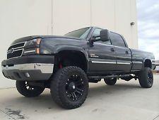 Chevrolet : Silverado 2500 LS CLEAN 2005 CHEVY SILVERADO 2500 CREW CAB LS 4X4 LIFTED 6.6 DURAMAX TURBO DIESEL Big Chevy Trucks, Gm Trucks, Diesel Trucks, Lifted Trucks, Cool Trucks, Pickup Trucks, Silverado Nation, Chevy Silverado 2500, Extreme 4x4