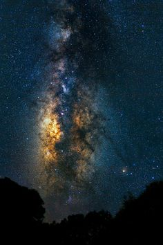 awesome star cluster / galaxy night sky