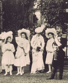History of Romanovs l like the picture. Like the shot before the formal shot. Relaxed, expectant & candid