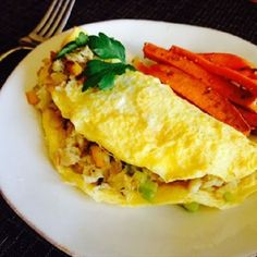 Crabmeat Omelet – An
