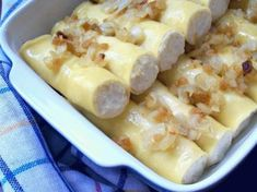 Zdjęcie: Ruskie  canneloni Clean Recipes, Cooking Recipes, My Favorite Food, Favorite Recipes, Vegetarian Comfort Food, Russian Recipes, Cheap Meals, Food And Drink, Yummy Food