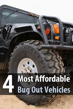 Here you'll find some very affordable everyday vehicles that would make great bug out vehicles with just a few simple upgrades. via @urbanalan