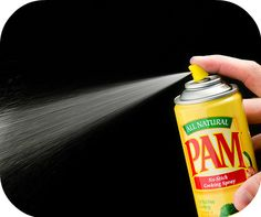 Salon looking nails at home, by drying your nails with Pam cooking spray and other pantry tricks, by Barbie's Beauty BIts