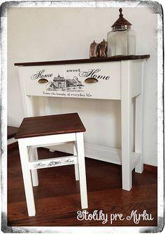 vYQt / Konzolový stolík   stolček