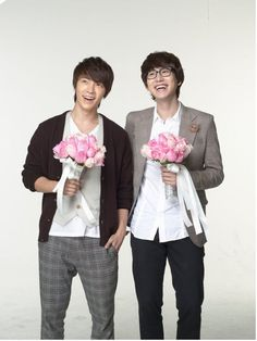 Super Junior - Donghae Kyuhyun Come visit kpopcity.net for the largest discount fashion store in the world!!