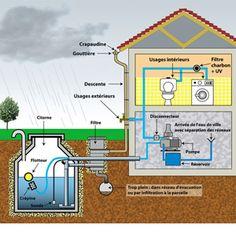 Récupérer l'eau de pluie pour la maison ou le jardin