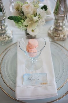 Blush macarons: http://www.stylemepretty.com/canada-weddings/ontario/niagara-on-the-lake-ontario/2016/05/02/all-the-inspiration-you-need-for-your-jasmine-filled-wedding/ | Photography: Gemini Photography - http://geminiphotographyontario.com/