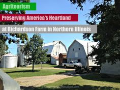 Agritourism at Richardson Farm in Lake County, Illinois. World's largest corn maze, zip lining, wagon rides and so much more!