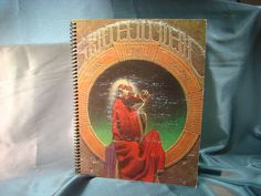 Repurposed Album Cover Drawing Sketch Books  Grateful by ReSpinIt, $12.00