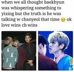 Ahhh poor Yixing though...