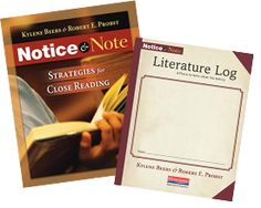 Notice and Note resources from the publisher. See bottom of page for links. Close Reading, Guided Reading, Teaching Reading, Teaching Tools, Reading Strategies, Reading Comprehension, Notice And Note, 6th Grade Reading, Instructional Strategies