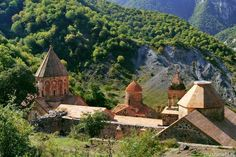 Dadivank Monastery,IX-XIII centuries,Artsakh,Armenia  Photo by Vae Isakhanian