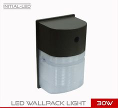 LED 30W ROUND WALLPACK LIGHT UL EQUIVALENT 300W