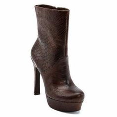 Fram Brown Snake Boots-  these boots need to be in my closet for fall!!!!!