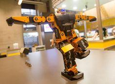 Robonova z Pracowni robotycznej / Robonova from Robotics lab