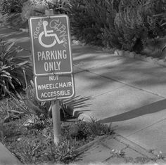 Not wheelchair accessible by efo, via Flickr