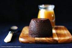 Chocolate Date Pudding with Bourbon Toffee Sauce by Citrus and Candy... Lots of good food ideas